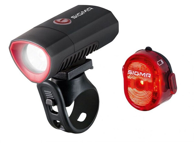 SIGMA SPORT Buster 300 & Nugget Flash II USB Beleuchtungs Set